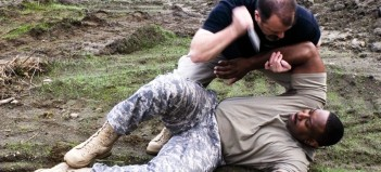 Cutting Edge Training military knife combatives